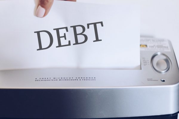 Shredding the debt concept, bad credit history